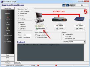 dreambox control center