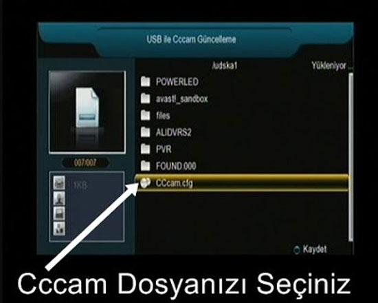 Dreamstar Cccam Yükleme 6
